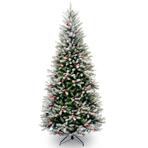 Frosted Winfield Fir 7.5ft Artificial Christmas Tree