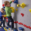 Beginner WeeKidz Wall Side View with One Climber Green Shirt