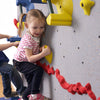 Beginner WeeKidz Wall Side View with Girl Climber Pink Shirt