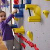 Beginner WeeKidz Wall Side View with One Climber