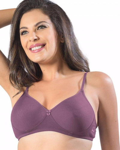 Sonari Smile Bra - Magenta - Non Padded Non Wired - Imported Bra - Bras - diKHAWA Online Shopping in Pakistan