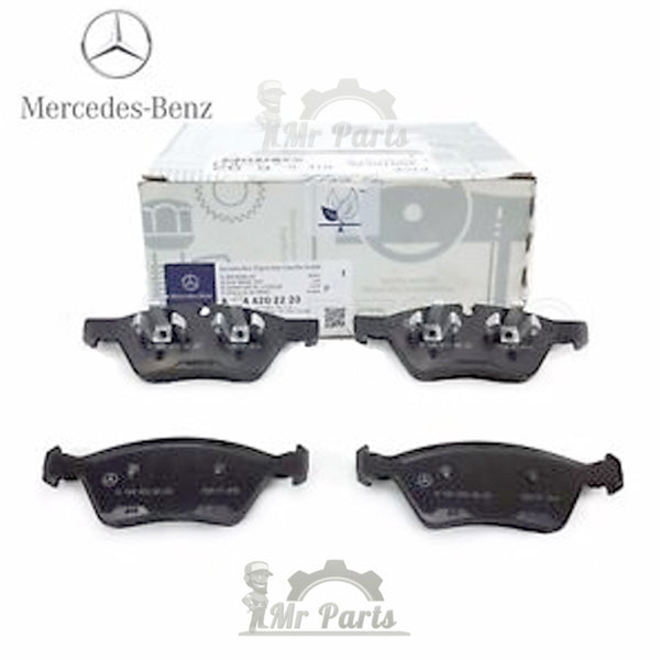 Genuine Mercedes-Benz Front Brake Pad Kit (A1644200820) for E350 E500 E550 G55 AMG GL320 GL350 GL450 GL550 ML320 ML350 ML450 ML500 ML550 R320 R350