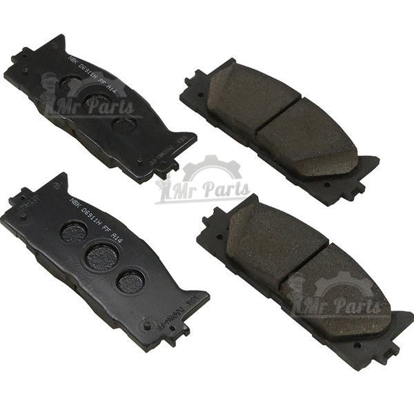 Toyota (04465-02220) Front Brake Pad Kit, Fits Scion, Corolla 2009-2013