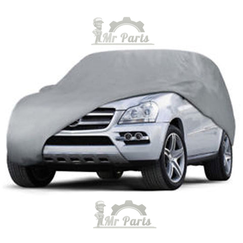 100% Waterproof Double Layer PVC Non-PP Cotton Universal Car Cover for SUVs