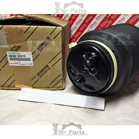 Genuine OEM Toyota Cylinder Assy, Pneumatic (Air Spring Bag), Rear Left Suspension 48090-60010, Fits Lexus GX460 2010-2013