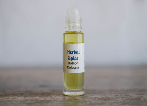 Herbal Spice Roll-On Cologne
