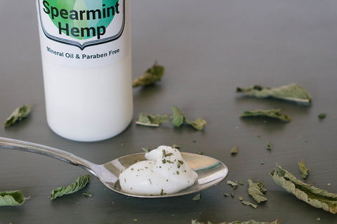 Spearmint Hemp Lotion