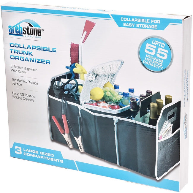 2 IN 1 COLLAPSIBLE TRUNK ORGANIZER AND COOLER