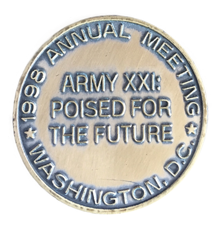 1998 Annual Meeting Coin