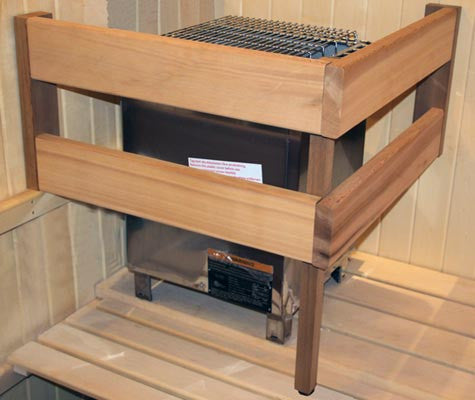 Superior Saunas: Heater Guard - Commercial Heavy Duty Sauna Heater Guard