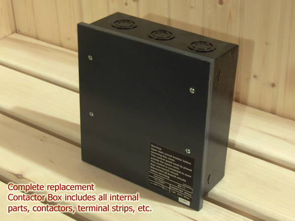 Sauna Control Contactor Box for LA, PRO, OCTA heaters 1 phase