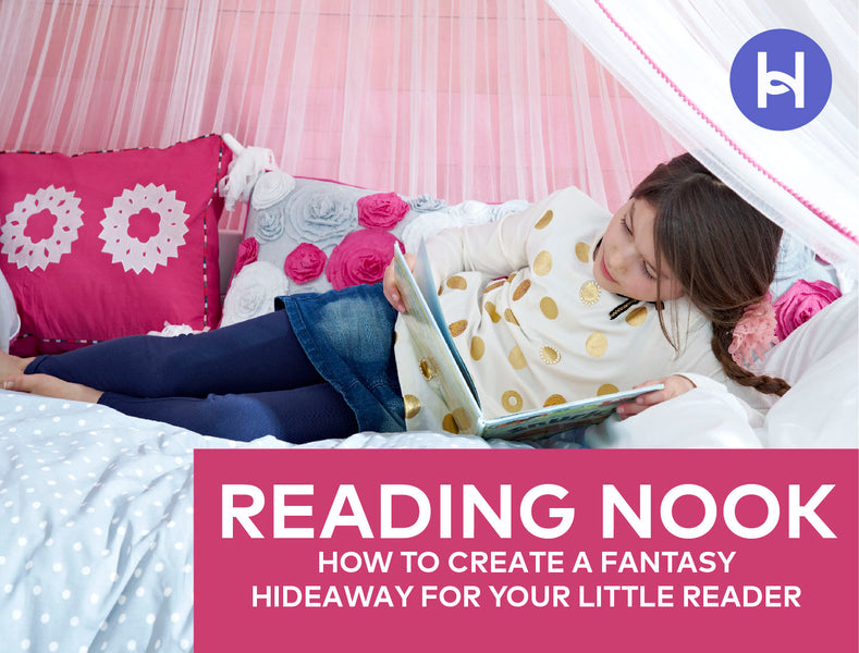 How to Create a Cozy Kids Reading Nook