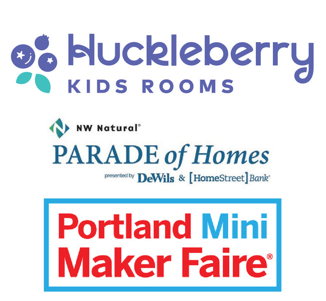 Huckleberry Kids Rooms is on the go!