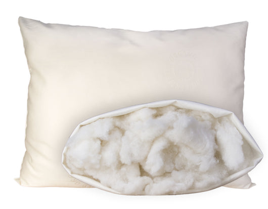 Certified Organic Wool Pillow for Kids - Huckleberry Kids Rooms
