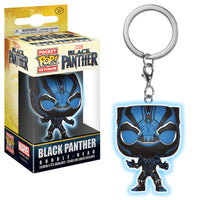 Pocket Pop Keychain Black Panther (Glow in the Dark)