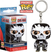 Pocket Pop Keychain Crossbones (Civil War)