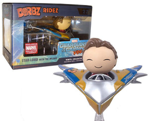 Dorbz Ridez Star-Lord w/ Milano  (Guardians of the Galaxy) 27 - Marvel Collector Corps Exclusive  [Damaged: 6/10]