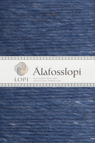 Alafoss Lopi - 0010 Denim Heather, Álafoss Wool Yarn - icelandicstore.is