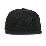 805ERS Blocks Hat Black On Black - 805 CLOTHING
