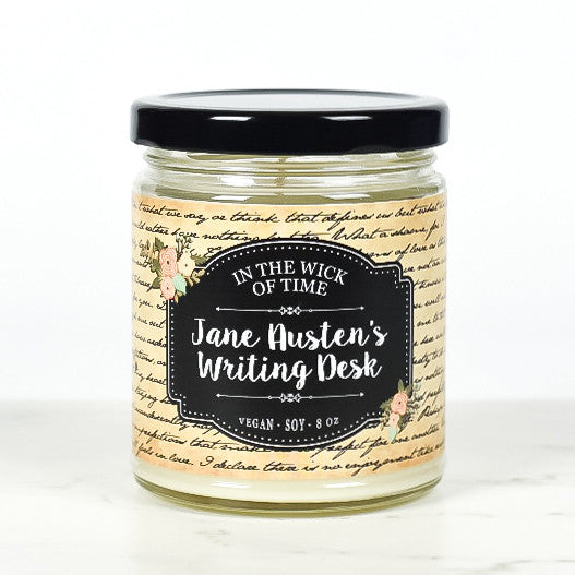 Jane Austen's Writing Desk Candle
