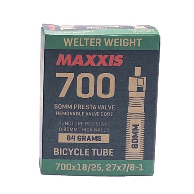 700c Maxxis Tubes 60mm - TireCare Singapore Pte. Ltd.