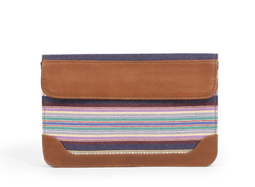Pocket Book-  Blue White Stripe