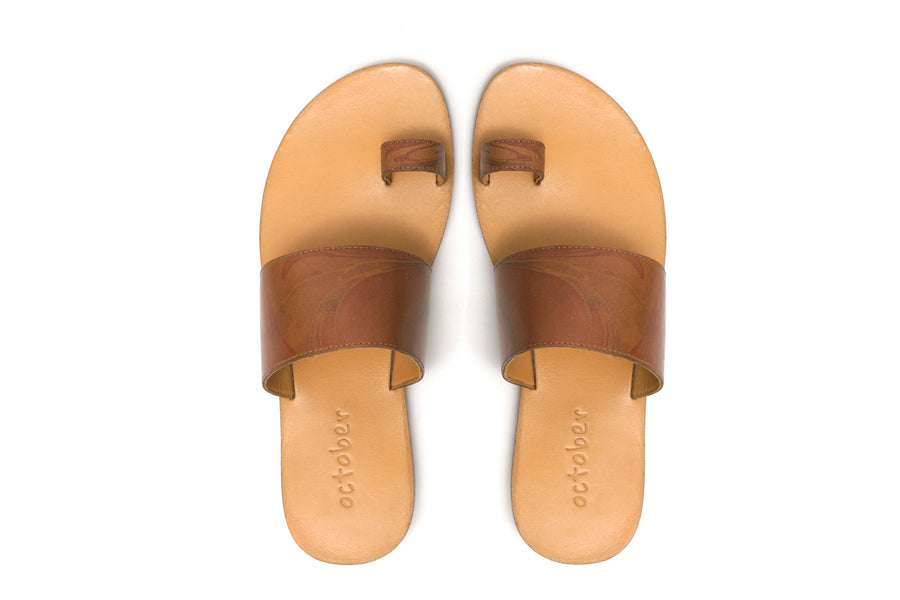 Vanshika Slippers- Tan