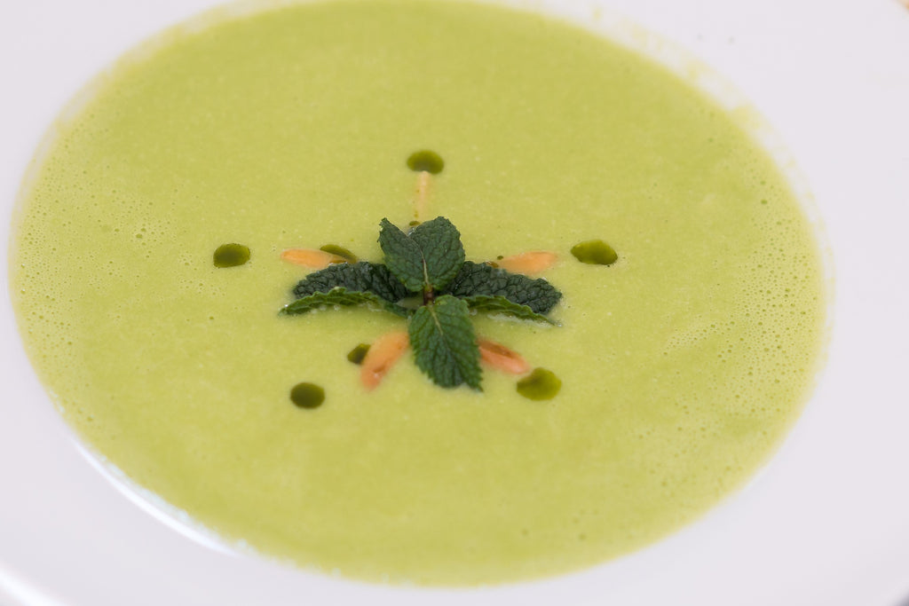 Moringa, Spinach and Cauliflower Soup