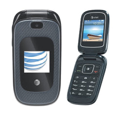 ZTE Z222 AT&T Unlocked 3G GSM Bluetooth with Camera Flip Phone