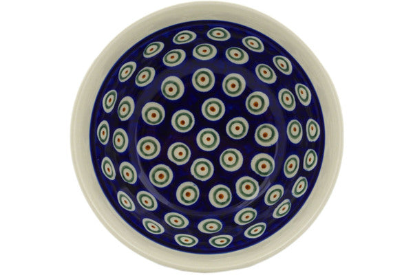 20 oz Cereal Bowl - Peacock | Polish Pottery House