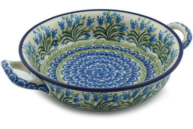 "8"" Round Baker with Handles - 1432X 