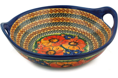 "10"" Serving Bowl with Handles - Autumn Wonder 