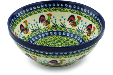 5 cup Serving Bowl - Rise & Shine | Polish Pottery House