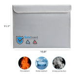 Flame Fire Safe (Size 2) Digital Safe