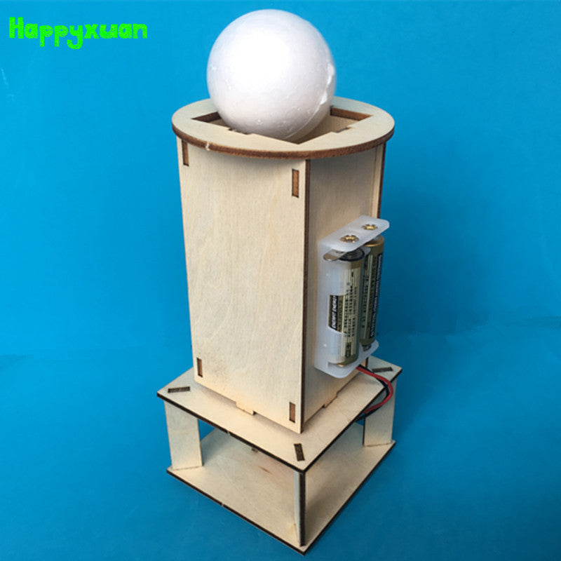 Electric Suspended Ball Assembly Kit and Toy