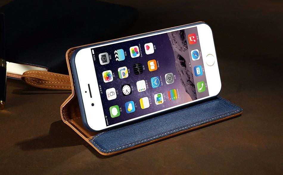 Luxury Flip iPhone Case With Card Slot - Elegant Case