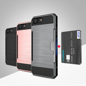 Hard PC Case With Card Slot - Elegant Case