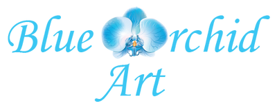 Blue Orchid Art
