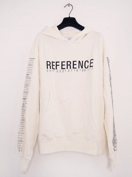 SM069 REFERENCE 3.0 HOODIE - OFF WHITE