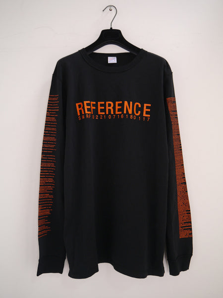SM096 REFERENCE 4 LONG SLEEVE T-SHIRT - BLACK