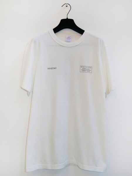 SM061 DISCOGRAPHY PT.2 T-SHIRT - OFF WHITE