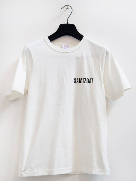 SM002 BRAND LOGO T-SHIRT - OFF WHITE