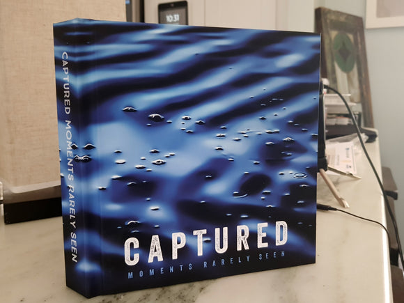 PRE-ORDER Captured Moments Rarely Seen - Premium Lay-Flat Coffee Table Book (65 pages)