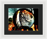 Fire In The Sky - Framed Print