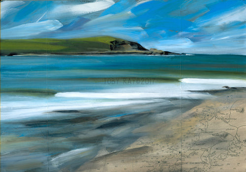Daymer by Cornish Artist Toby Ray