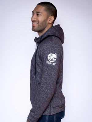 Men's Adventure Zip Hoodie - Dark Heather