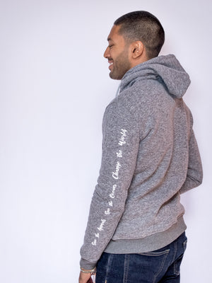 Men's Wander Hoodie - Light Heather