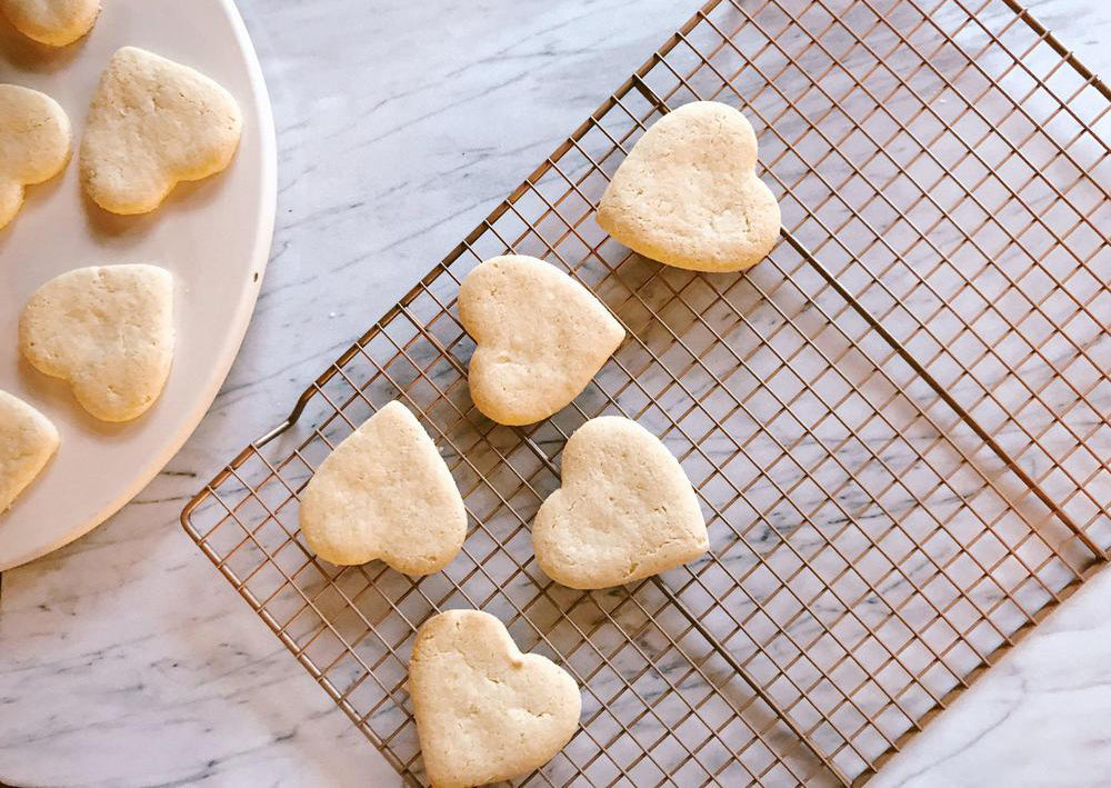 Almond Flour Sugar Cookies - A Simple Life Recipe