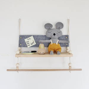 """Charlie"" Felt Swing and Hanging Rack"