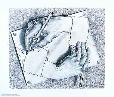 M.C. Escher Posters Drawing Hands
